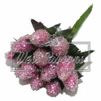 Малина 1.5 см розовая