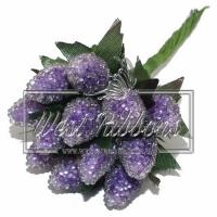 Малина 1.5 см,фиолетовая