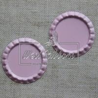 Крышечки для бантиков , розовые