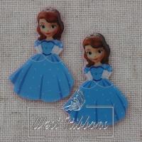 Кабашон София в синем платьице № 80