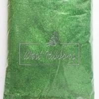 Присыпка глиттер, зелёная