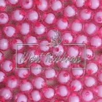 Хрусталька-жемчуг  10 мм , розовая