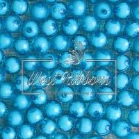 Хрусталька-жемчуг  10 мм , бирюзовая