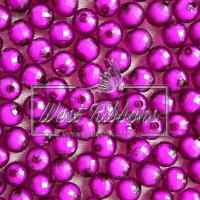 Хрусталька-жемчуг  10 мм , темно-фиолетовая