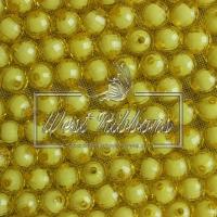 Хрусталька  -жемчуг  10 мм , желтая