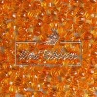 Хрусталька 8 мм , оранжевая