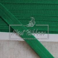 Касая бейка стрейчевая 1.5 см, зелёная