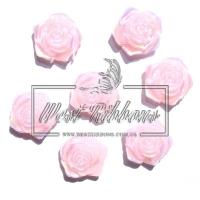 С-ка ТВ роза 2 см  перамутр, розовая