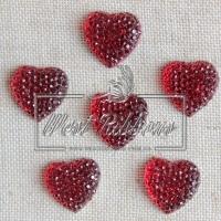 С-ка Сердце пупер 16 мм красный