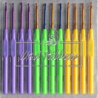Крючки вязальные цветные 3.0 мм-1 шт.