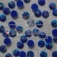 Стразы перламутровые 7 мм,темно-синие