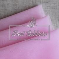 Фатин  мягкий,  розовый