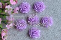 Серединка-роза 2см ,сиренева