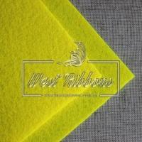 Фетр 2 мм, желтый