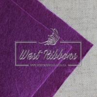 Фетр 2 мм , темно-фиолетовый