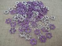 Серединка пустой цветок , светло-фиолетовый