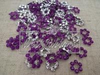 Серединка пустой цветок , темно-фиолетовый