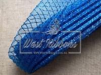 Регилин 4.5 см, ГАФРОВАННЫЙ-синий