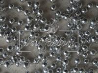 Жемчуг на нитке 8 мм New Year, серебро