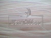 Регилиновая трубка ,бело-перламутровая