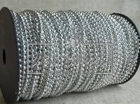 Жемчуг на нитке 2.5 мм New Year, серебро