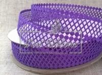 """Ажур  """"Ромбик""""  2 см , темно-фиолетовый 35"""