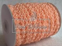 Цветок-бусинка на нитке VX18, оранжевая