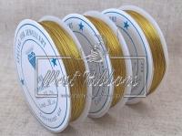 Проволока 0.3 мм золото ( 50 м.)