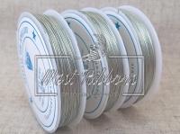 Проволока 0.3 мм серебро ( 50 м. )