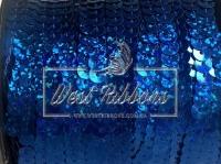 Пайетки на нитке , темно синие (перламутр)
