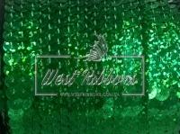 Пайетки на нитке , зелёные (перламутр)