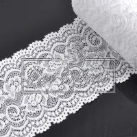 Кружево  свадебное (стрейч)