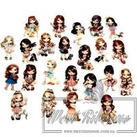 Кабашоны Dolls