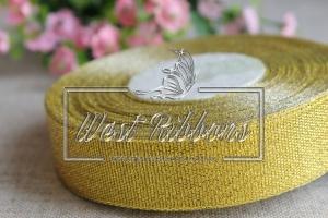 Парча 2.5 см  золото