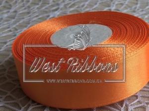 Атлас 5 см оранжевый 151