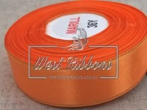 Люрекс 2.5 см , оранжевый РУЛОН