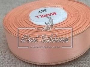 Люрекс 2.5 см , персиковый РУЛОН