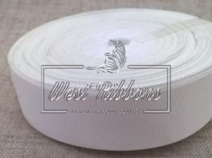 Репс 2 см, белый РУЛОН (23 м.)