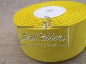 Репс 4 см , желтый