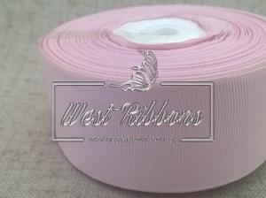 Репс 4 см , бледно-розовый РУЛОН