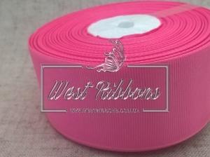 Репс 4 см , грязно ярко-розовый РУЛОН