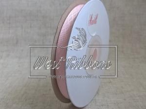 Атлас в ромбик 1 см, розовый РУЛОН