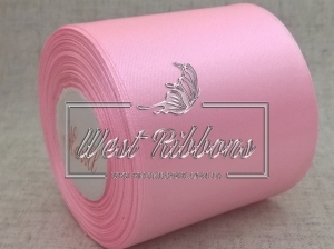 Атлас  8 см  светло-розовый
