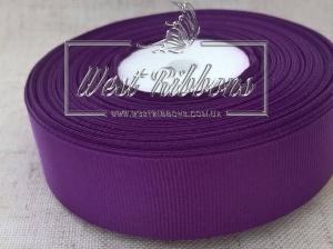 Репс 2,5 см, темно-фиолетовый #35.