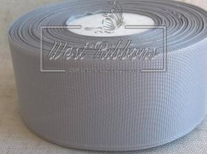 Репс 4 см , серебро РУЛОН