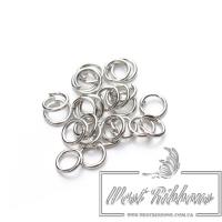 Кольцо карабина-серебро
