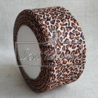 Репс 4 см Леопард на персиковом