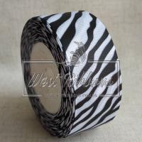 Репс 4 см черно-белая зебра