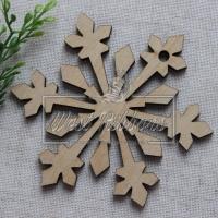 Деревянные украшения , снежинка № 43