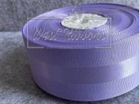 Репс 4 см с атласной полосой, св. фиолетовый